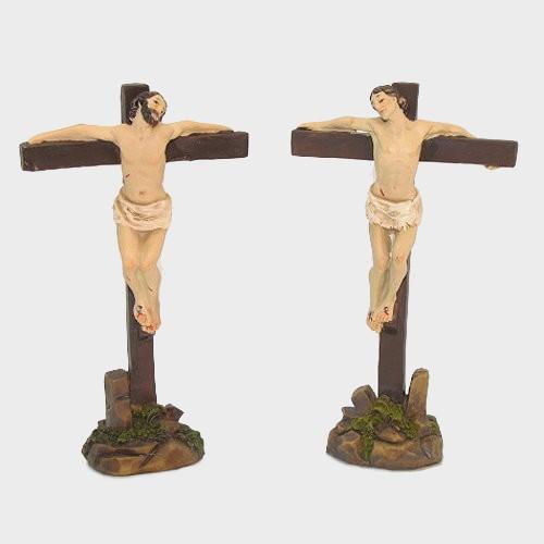 Passionsfiguren zwei Schächer 9cm