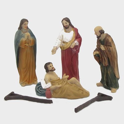Passionsfiguren Heilung des Gelähmten 9cm