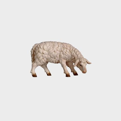 Rainell 257 Krippenfigur Schaf äsend rechtsschauend