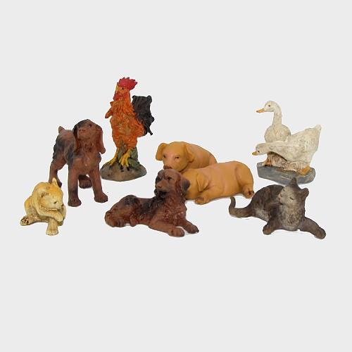 Krippenfiguren Hoftiere