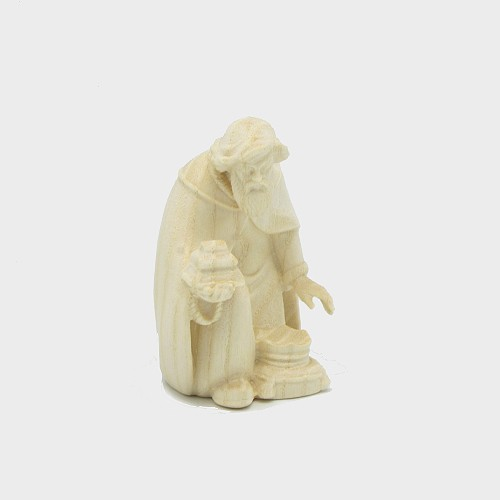 PEMA 011 natur Krippenfigur König kniend