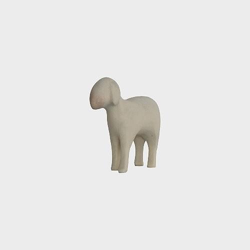 Aram 2301 Wasserfarbend Krippenfigur Schaf stehend