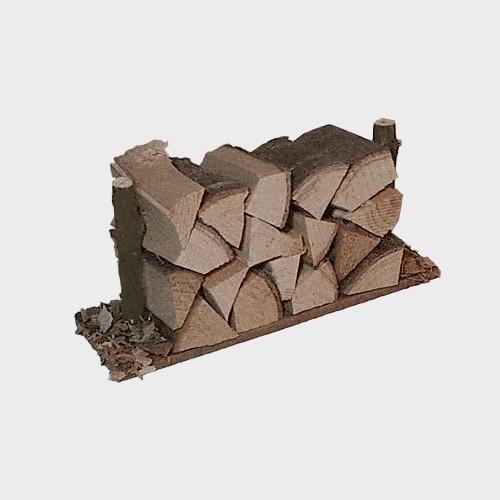 Krippenzubehör Holzstapel