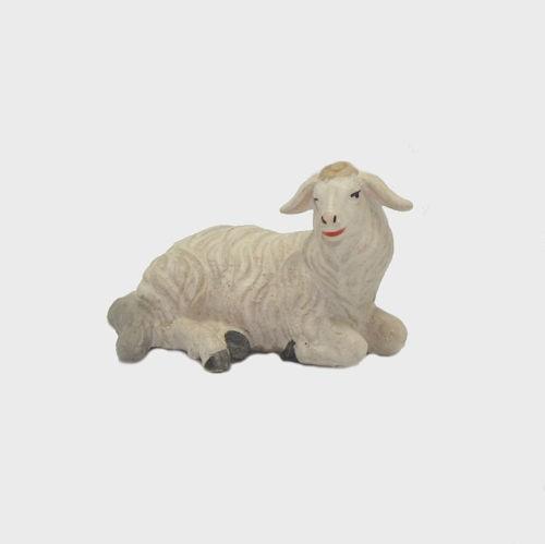 Zirbel 253 Krippenfigur Schaf liegend rechtsschauend