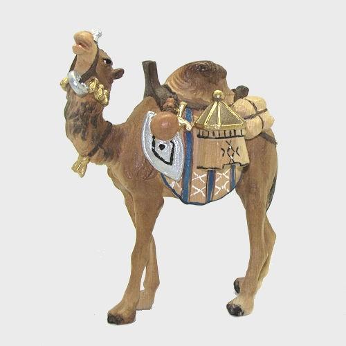 Krippenfigur Zirbel 171 Kamel mit Gepäck
