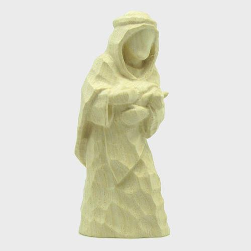 Anne 8123 Krippenfigur Hirte mit Lamm im Arm