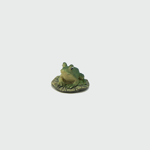 Krippenfigur Frosch