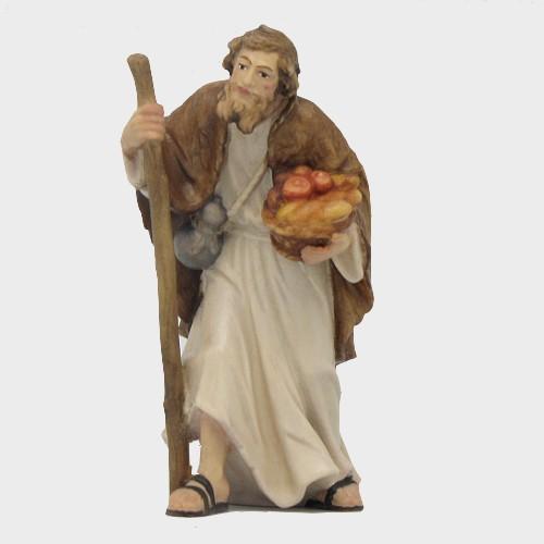 Rainell 084 Krippenfigur Hirte mit Obst