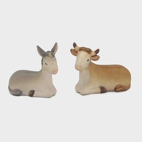 Krippenfiguren Ochs und Esel Leonardo 910512
