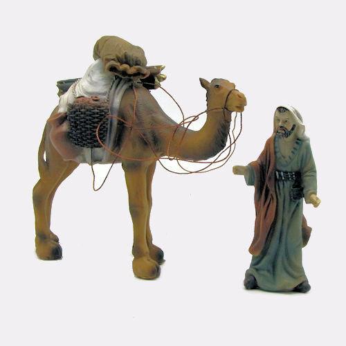 Kamel 14cm hoch mit Treiber 10,7cm hoch