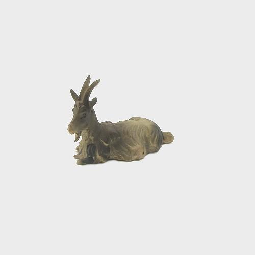 Krippenfigur Ziege liegend für 10-12cm große Krippenfiguren