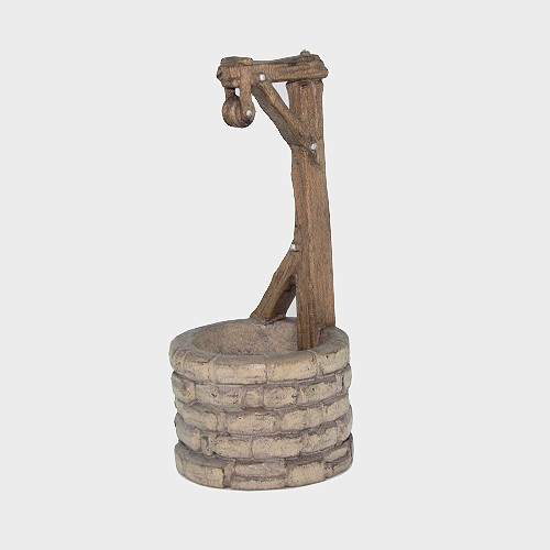 Zirbel 097 Krippenfigur Brunnen