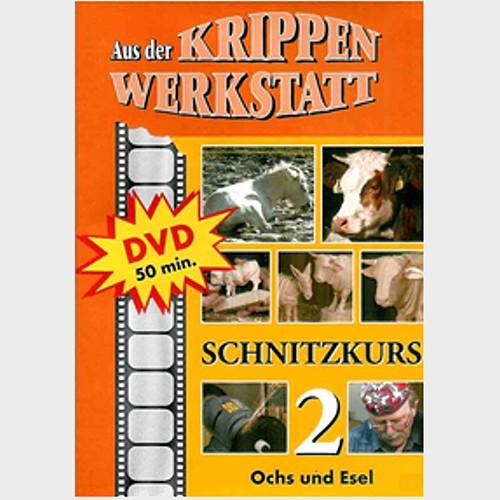 DVD Wir schnitzen Ochs und Esel von Peter Schrettl
