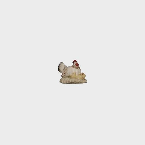 PEMA 125 Krippenfigur Henne mit Küken