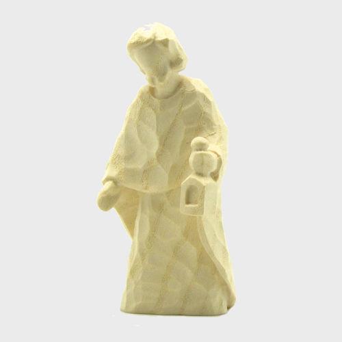 Anna 8103 Krippenfigur Heiliger Josef natur