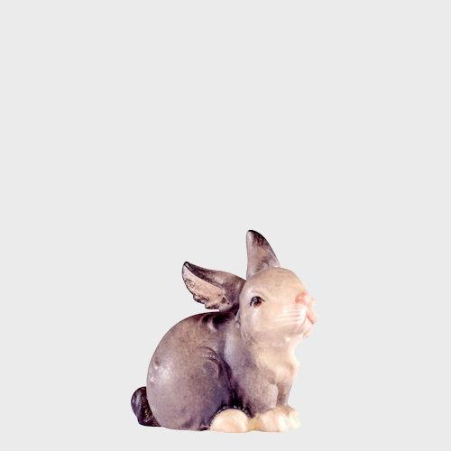 Artis 4587G Krippenfigur Hase sitzend grau