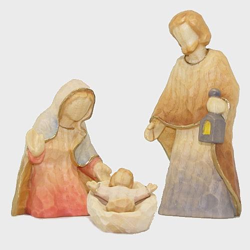 Anna 08199 Krippenfiguren Heilige Familie