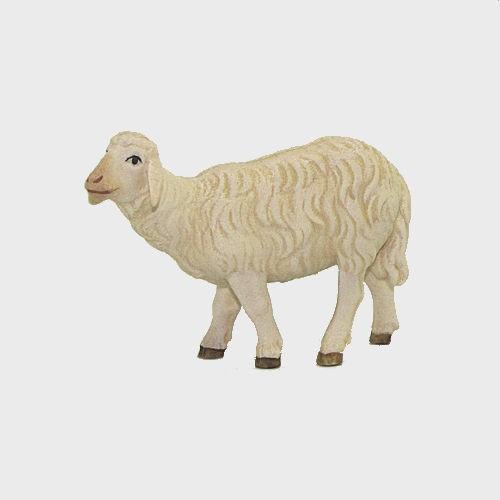 Nazareth Krippenfigur Schaf stehend linksschauend