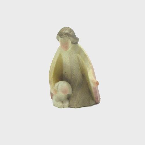 Aram 2151 Krippenfigur Hirte kniend