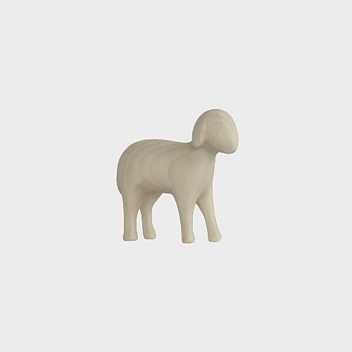 Aram 2301 Natur Krippenfigur Schaf stehend