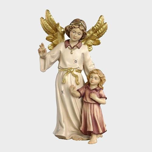 Mahlknecht 070 Krippenfigur Schutzengel mit Mädchen