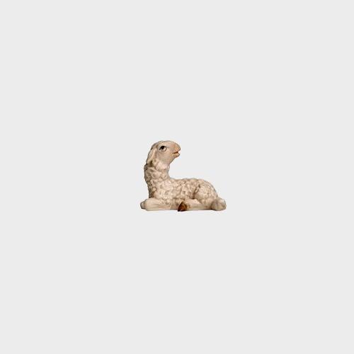 Rainell 283 Krippenfigur Lamm liegend zurückschauend
