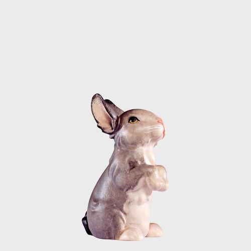 Artis 4588G Krippenfigur Hase stehend grau
