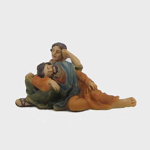 Krippenfigur Passionsfiguren Erscheinung Hirtenpaar
