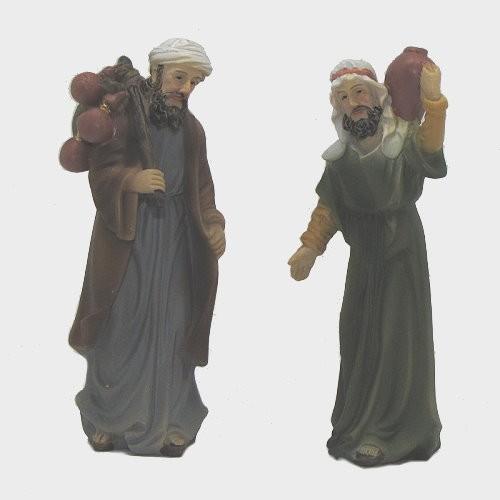 Krippenfiguren Karawanenbegleitung 2-teilig
