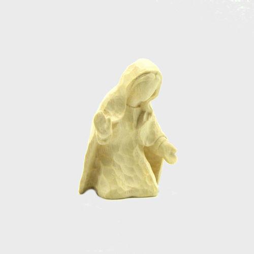 Anna 8102 Krippenfigur Heilige Maria natur