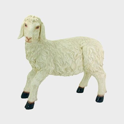 Krippenfigur Schaf stehend