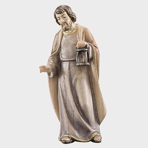 Advent 001 Krippenfigur aus Eschenholz Heiliger Josef