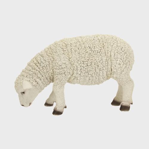 Krippenfigur Schaf äsend 25cm groß