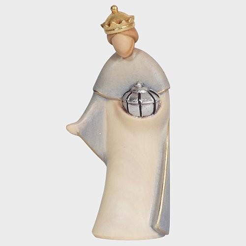 Krippenfigur König Weiß Leonardo 910013 Color
